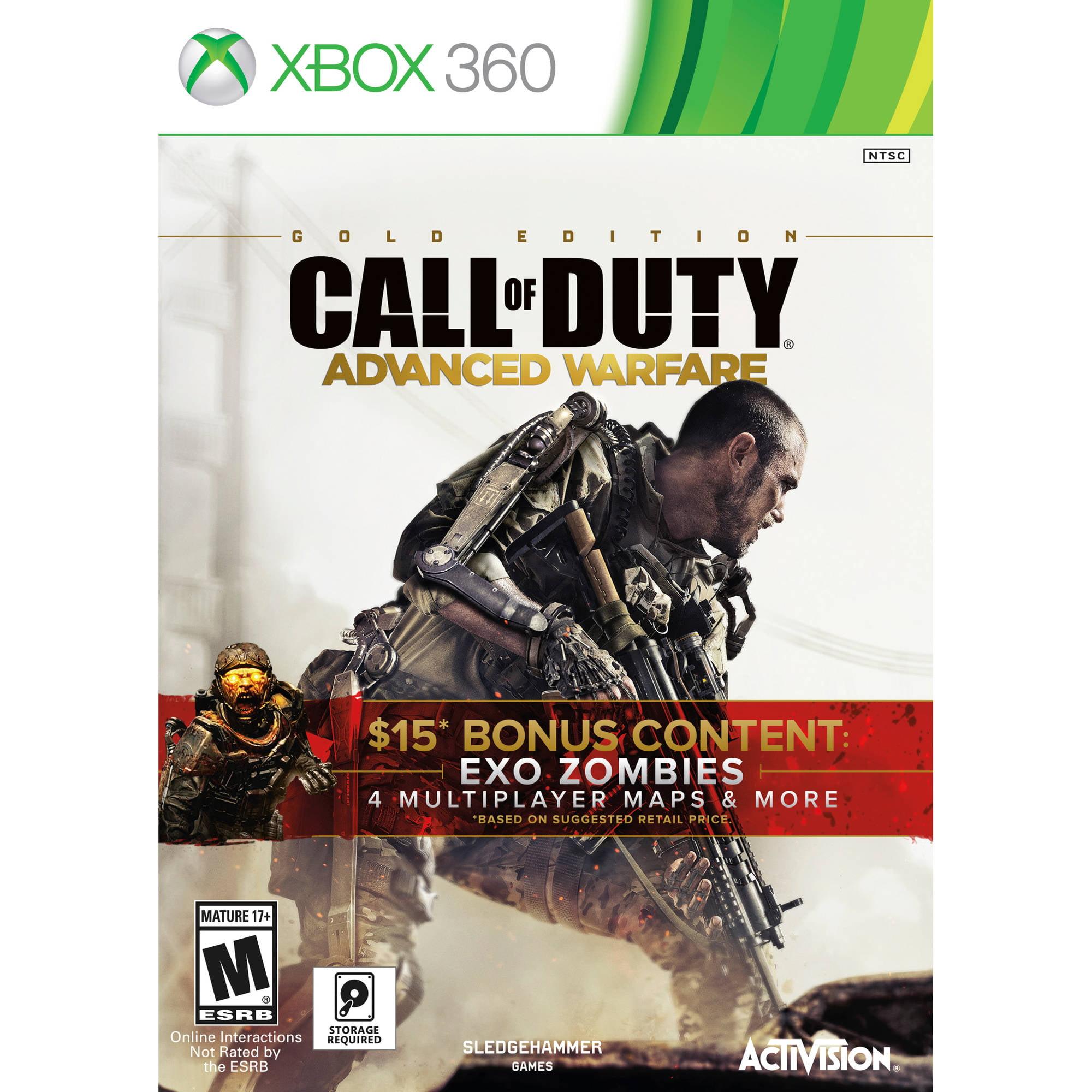 Call Of Duty Advanced Warfare Gold (Xbox 360)