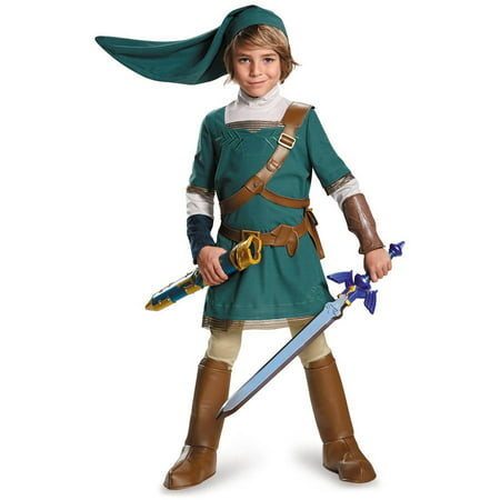 Legend of Zelda Link Prestige Child Halloween Costume](Link Halloween Costume Zelda)