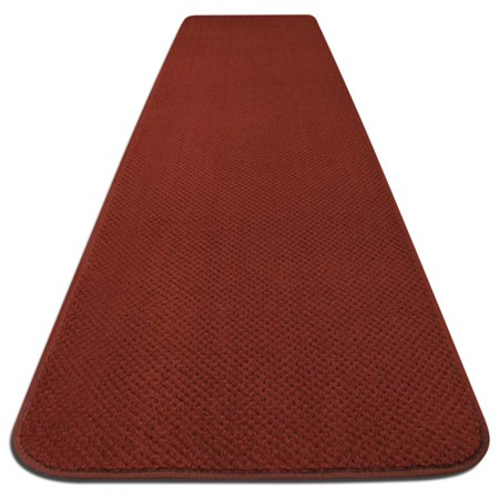Diy Red Carpet Runner (Skid-resistant Carpet Runner - Brick Red - 6 Ft. X 27 In. - Many Other Sizes to Choose)