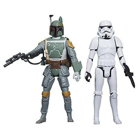 Star Wars Mission Series Figure Set, Boba Fett and Stormtrooper](Boba Fett Mask)