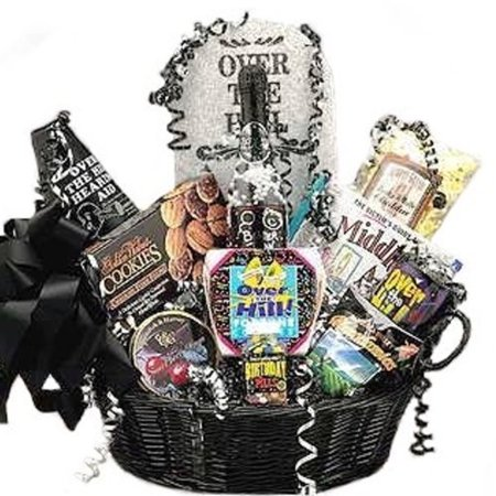 Over The Hill Gifts (Over the Hill Birthday Gift Basket -)