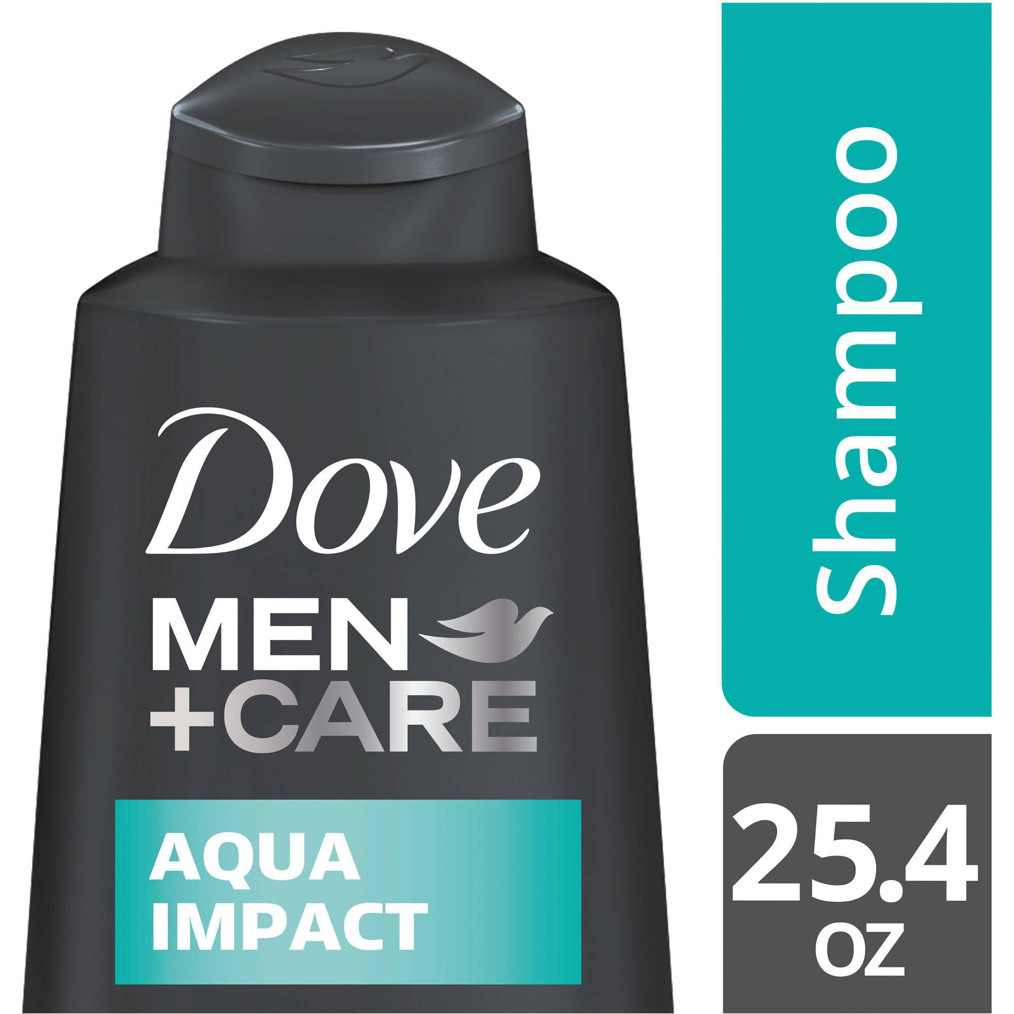Dove Men+Care Aqua Impact Shampoo, 25.4 oz
