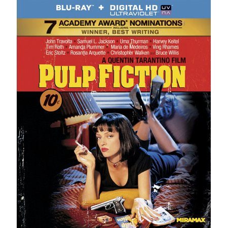 Pulp Fiction (Blu-ray + Digital HD) (Pulp Fiction Halloween Outfit)