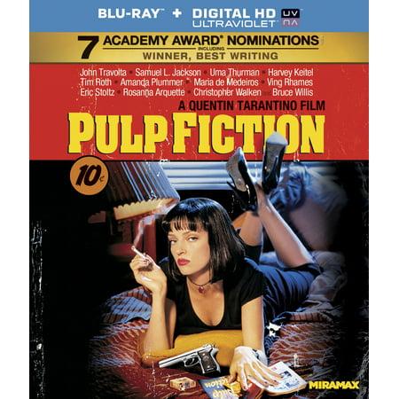 Pulp Fiction (Blu-ray + Digital HD) - Pulp Fiction Mia Wallace Halloween
