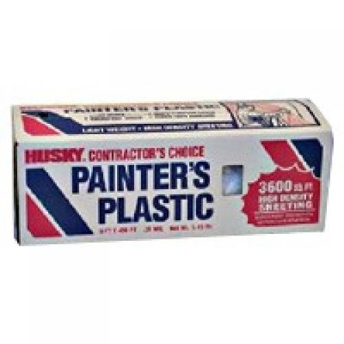 Poly-America 03509H 9-Ft. X 400-Ft. Professional Painters Plastic