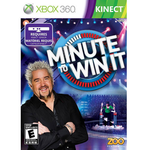 Minute To Win It Kinect  (Xbox 360) - Pre-Owned