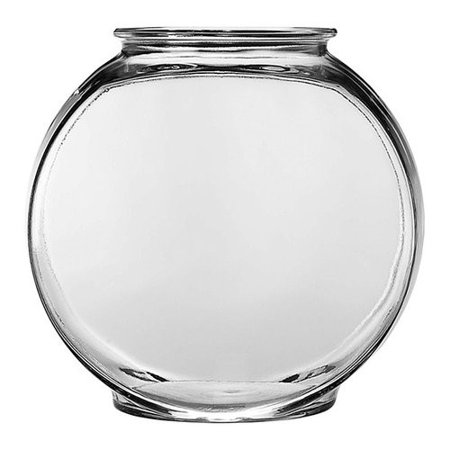 Aqua Culture 2-Gallon Glass Drum Fish Bowl