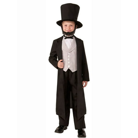 Abraham Lincoln Kids Costume (Abraham Abe Lincoln Child)