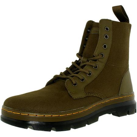 Dr. Martens - Dr. Martens Men s Combs Nylon Grenade Green Ankle-High Canvas  Boot - 11M - Walmart.com d78c01cf6