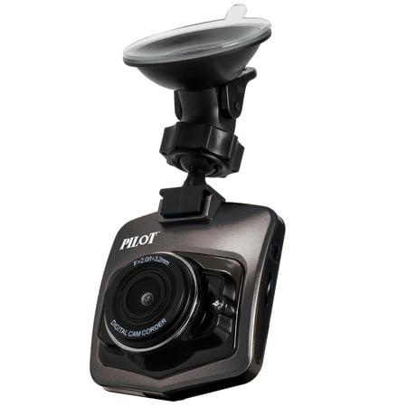 Pilot Automotive 720p Dash Cam No Sd Card Included
