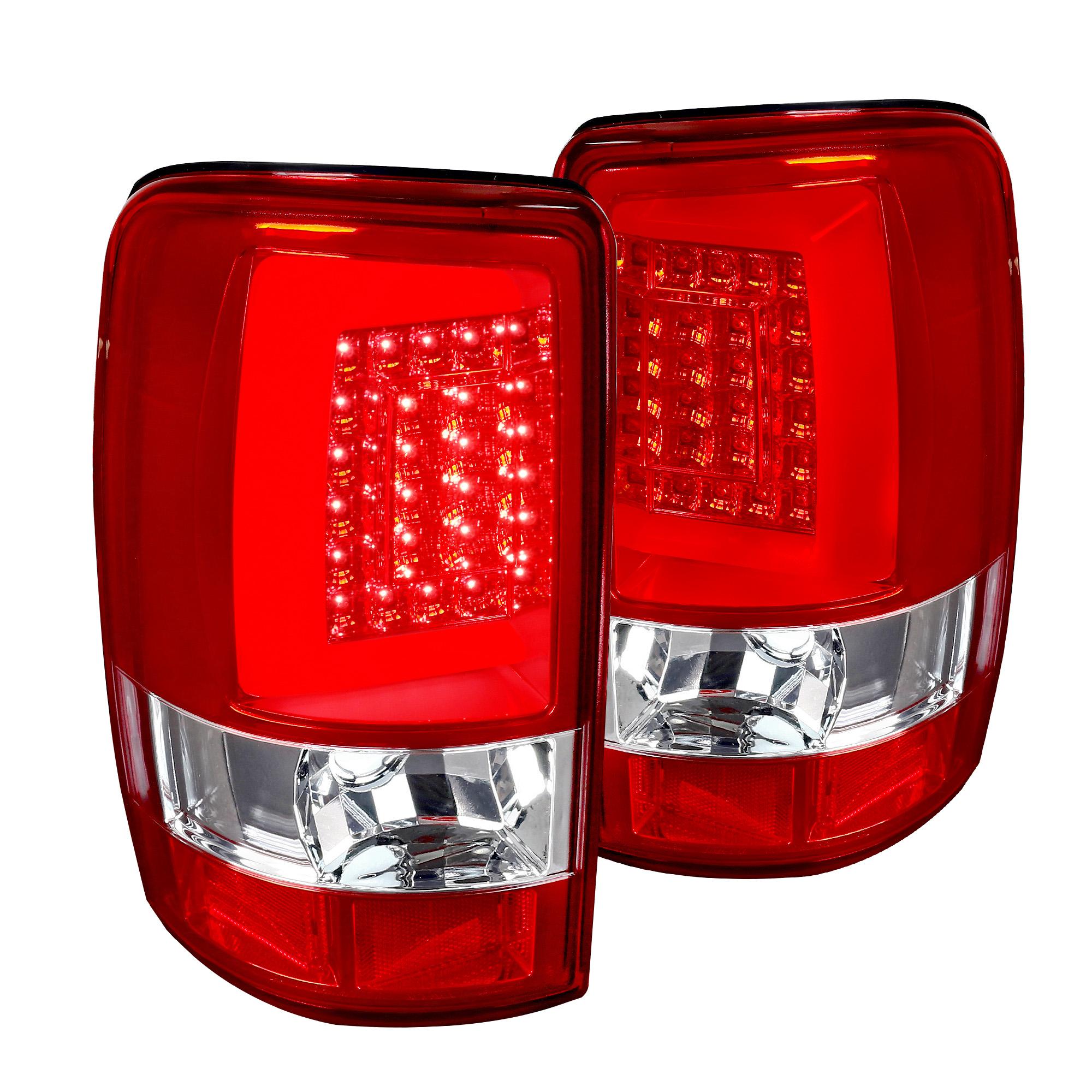 Xtune 2000-2006 Suburban//Yukon//Tahoe LED Performance Smoked 3rd Brake Light Rear Lamp 2001 2002 2003 2004 2005