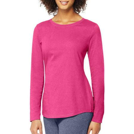 Hanes Women 39 S Long Sleeve T Shirt