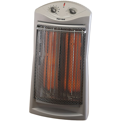 Home Essential HFH131 WHT Compact Fan Heater