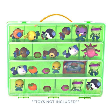 Octonauts Case, Toy Storage Carrying Box. Figures Playset Organizer. Accessories For Kids by LMB ? - Octonauts Characters Tweak