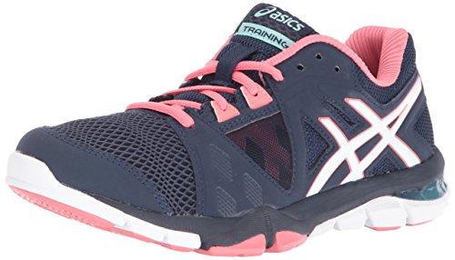 ASICS Women's Gel-Craze TR 3 Cross-Trainer Shoe, Dark Navy/White/Guava, 6.5 M US