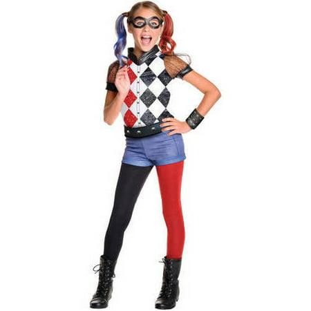 Halloween Costumes For Kidsgirl Walmart.Dc Harley Quinn Child Halloween Costume