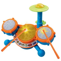 Deals on VTech, KidiBeats Drum Set, Toy Drums, Musical Toy, Learning Toy
