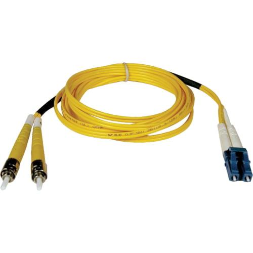 Tripp Lite Duplex Singlemode 8.3/125 Fiber Patch Cable - (LC/ST), 2M (6-ft.)