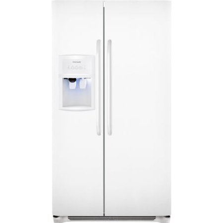 Frigidaire FFHS2622M Energy Star 26 Cubic Foot Side-By-Side Refrigerator with St Frigidaire FFHS2622MSide By Side RefrigeratorsCollection