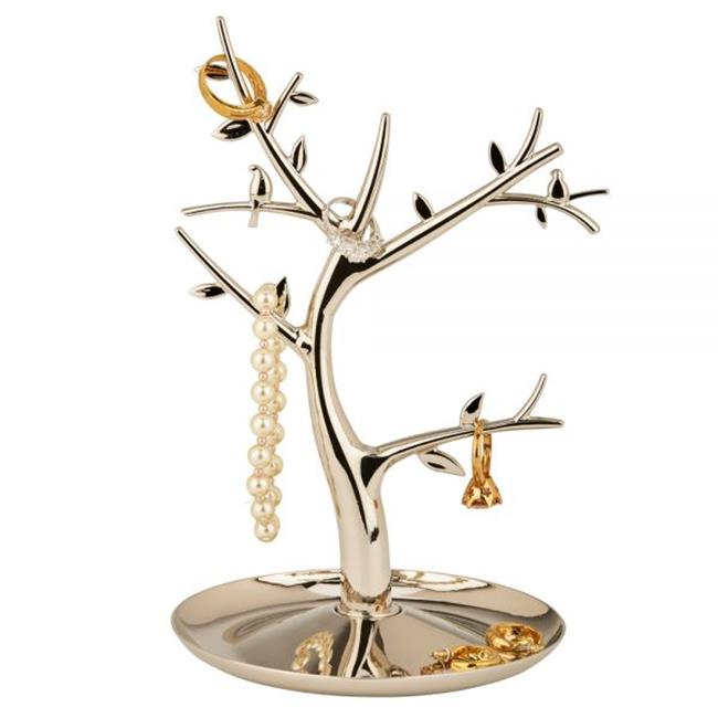 Creative Gifts International 002712 8.5 in. Jewelry Tree with Multi Branches - Silver - image 1 de 1