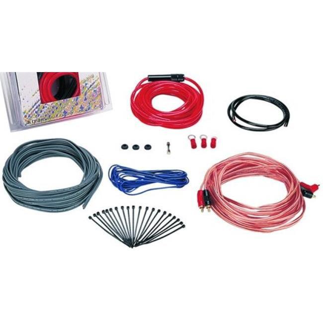 Boss Audio Systems Ava Kit2 8 Gauge Amplifier Installation Kit