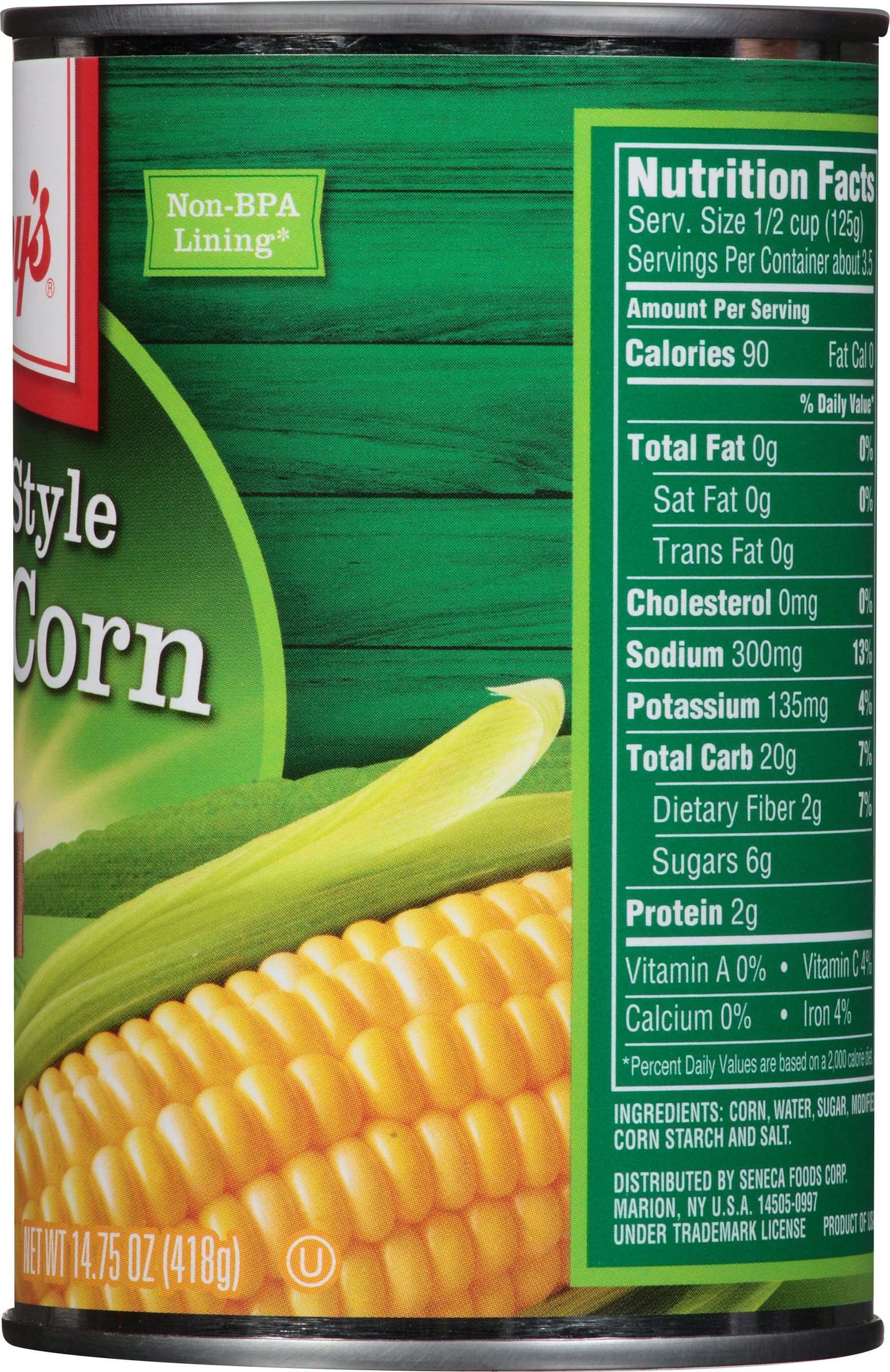 libby's® cream style sweet corn 14.75 oz. can - walmart