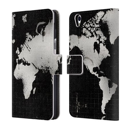 OFFICIAL ALI CHRIS MAP COLLECTION LEATHER BOOK WALLET CASE COVER FOR BLACKBERRY ONEPLUS