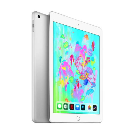 Apple iPad (6th Gen) for SIM 128GB Wi-Fi + Cellular - Silver