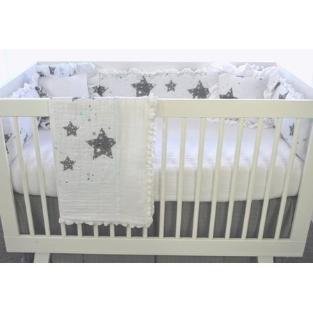 Harriet Bee Varela Stars Love You To The Moon 3 Piece Crib Bedding Set