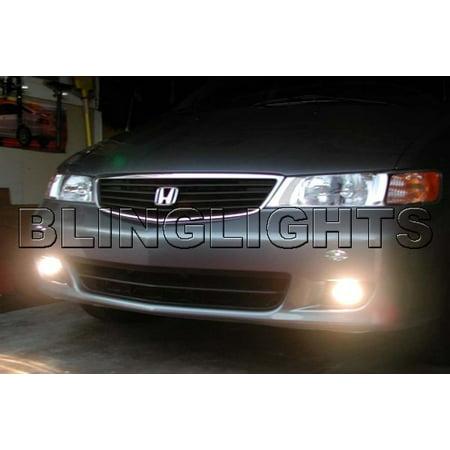 1999 2000 2001 2002 2003 2004 Honda Odyssey Xenon Fog Lamps Driving Lights Foglamps Foglights Kit