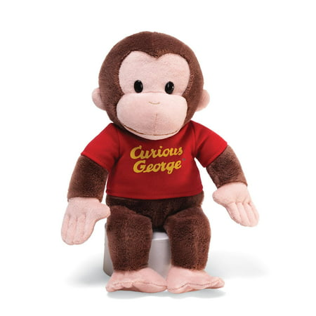 Curious George 12 Red Shirt (Other) (George Dinosaur Stuffed Animal)