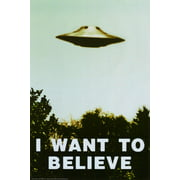 The X-Files - I Want To Believe Print Poster - 24x36