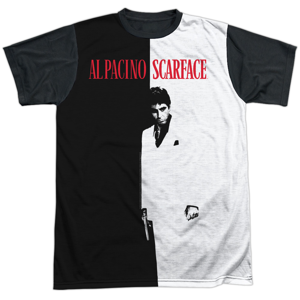 Scarface Big Poster Mens Sublimation Shirt