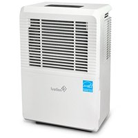 Ivation 70 Pint Energy Star Dehumidifier with Pump, for Spaces Up to 4,500 Sq Ft, Includes Programmable Humidity, Hose Connector, Auto Shutoff and Restart, Casters and Washable Filter