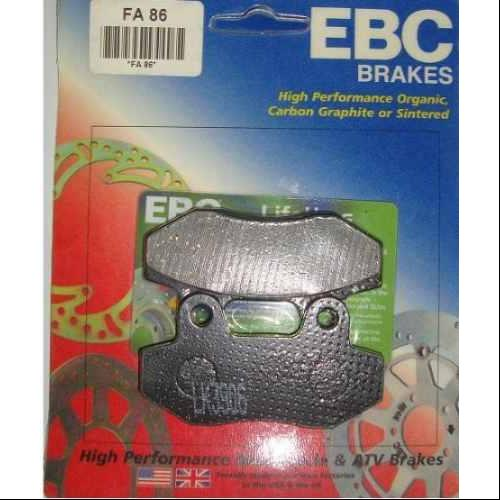 EBC Organic Brake Pads Front (2 sets required) or Rear Fits 06-07 Hyosung MS3 125