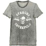 Avenged Sevenfold Men's  Death Bat T-shirt Grey
