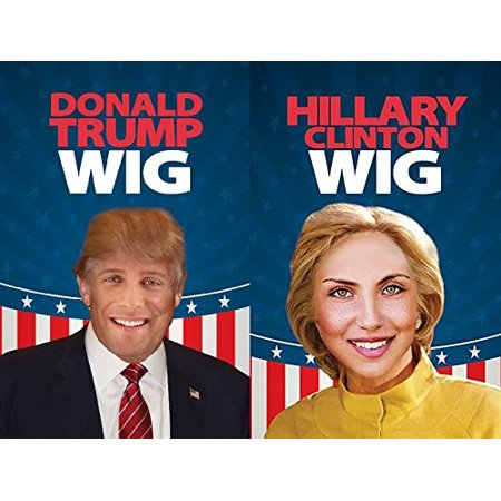 Donald Trump And Hillary Clinton Wig   Have A Debate In The Comfort Of Your Own Home   Usa  Brand Alayna  Tm