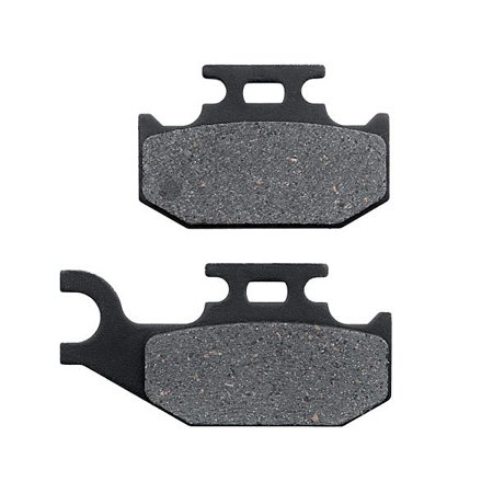 Ext Cab Brake Pads (KMG Front Right Brake Pads for 2004-2008 John Deere Buck 500 650 EX EXT - Non-Metallic Organic NAO Brake Pads Set )
