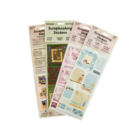 Assortment Scrapbooking - Scrapbooking Stickers Assortment