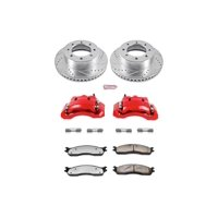 Power Stop KC2203-36 Z36 Truck & Tow Performance Brake Kit W/Calipers -Front