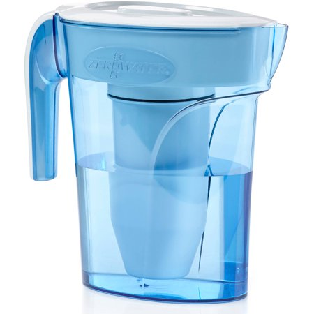Zerowater 6 Cup Pitcher With Free Tds Light Up Indicator  Total Dissolved Solids  Zp 006