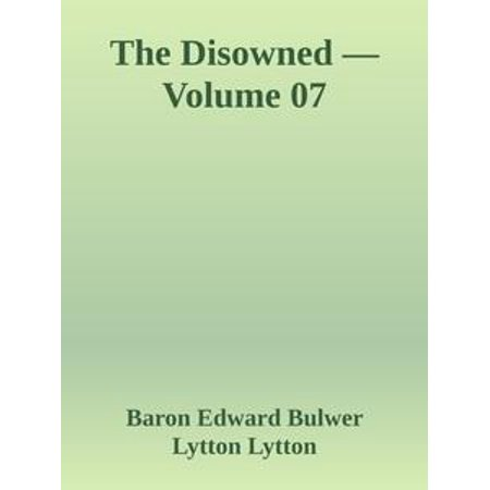 The Disowned — Volume 07 - eBook