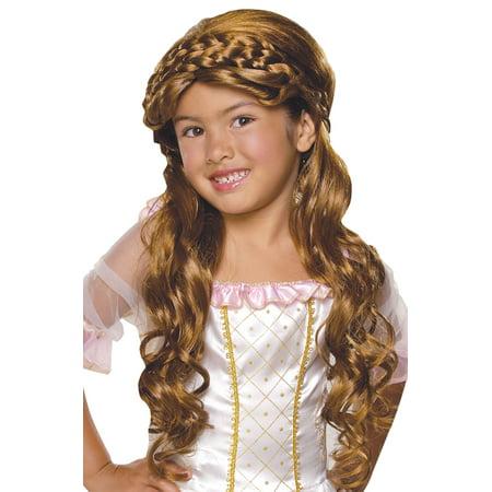 Enchanted Princess Child Wig - Princess Wig