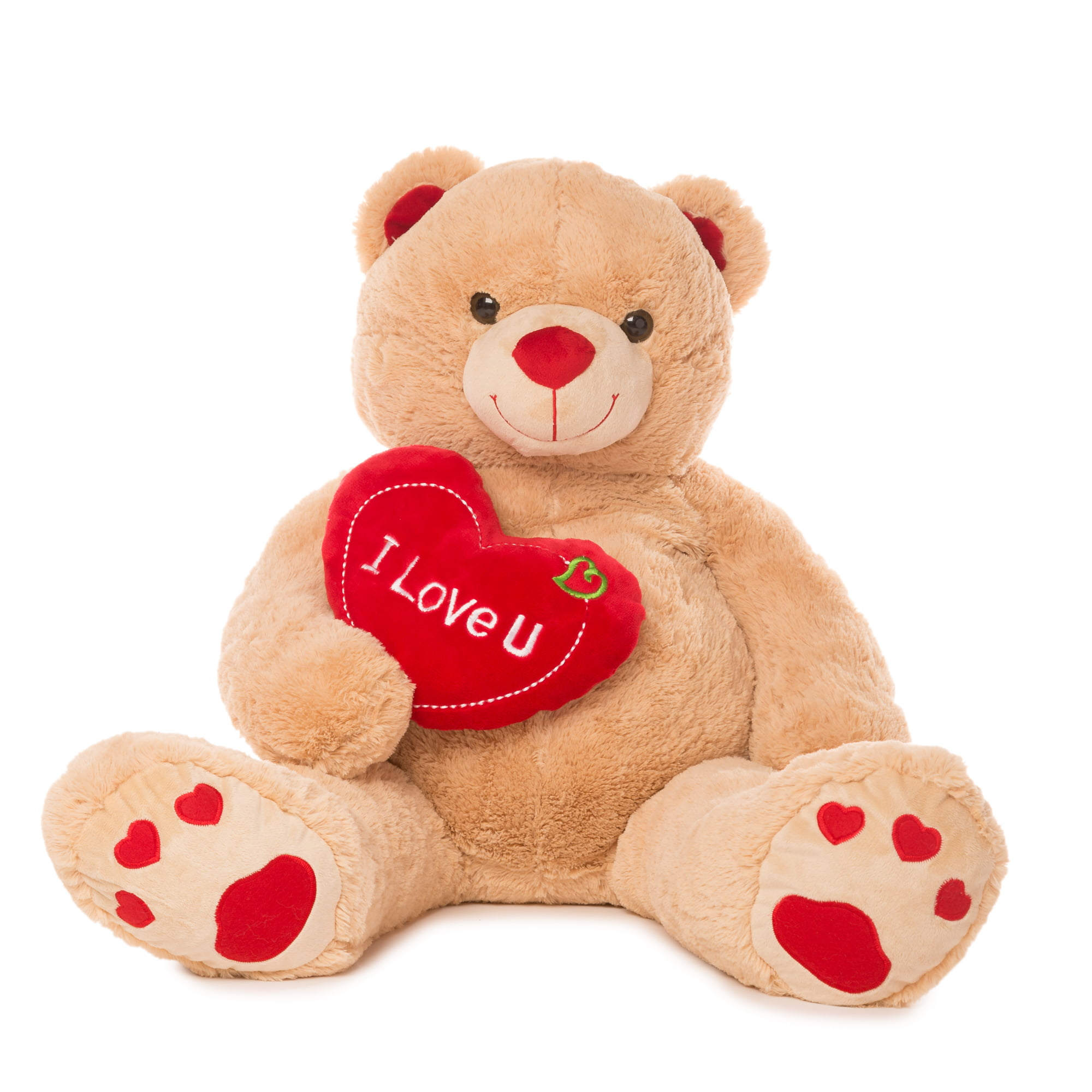 "Jumbo 48"" Teddy Bear With ""I Love You"" Heart"