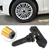 Tebru Car TPMS Tire Pressure Monitoring System Sensor 315hmz for Ford Motorcraft DE8T-1A180-AA TPMS12, Tire Pressure Monitoring System Sensor, TPMS12
