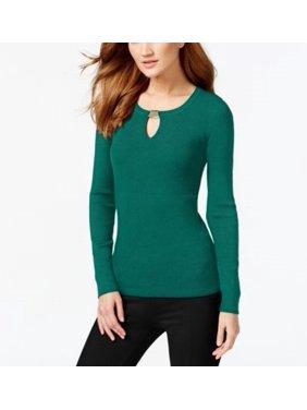 cf480fb12d2e1 Product Image Inc International Concepts Womens Keyhole Ribbed Sweater  Xxlarge