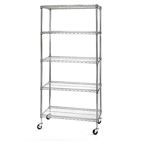 Seville Classics 5-Tier Shelving System
