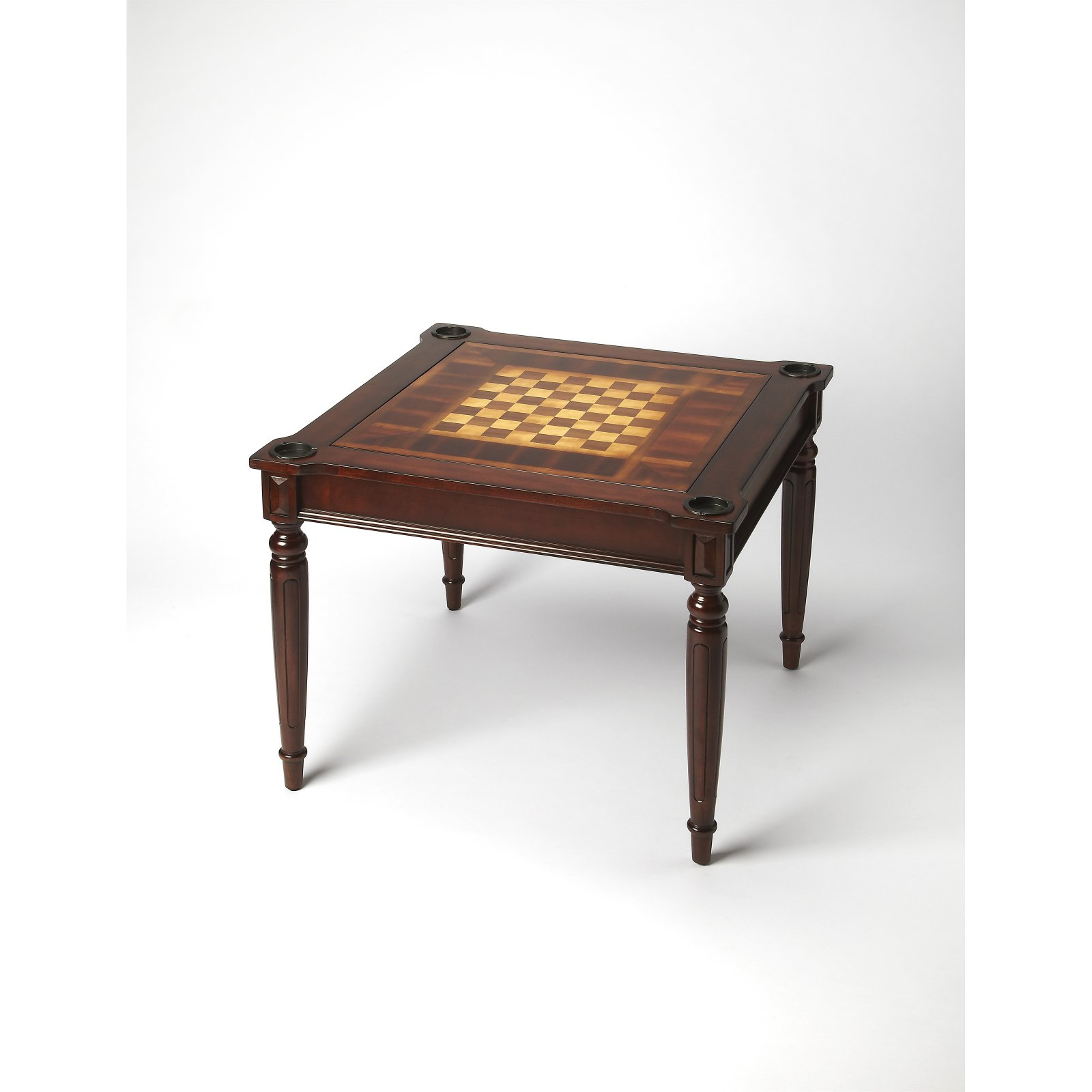Butler Masterpiece Collection Wood Multi-Game Card Table