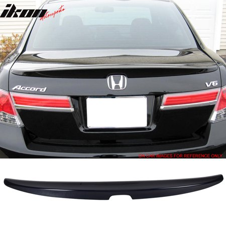 Fits 08-12 Honda Accord Rear Trunk Spoiler Wing 02 Rear Spoiler Wing