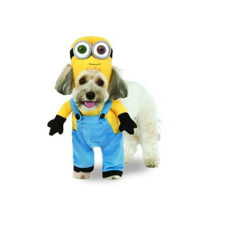 Evil Minion Dog Costume (Halloween Minion Bob Arms Pet)